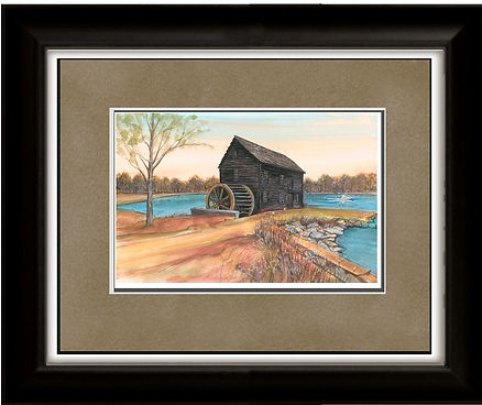 Poplar Grove Tide Mill Framed.jpg