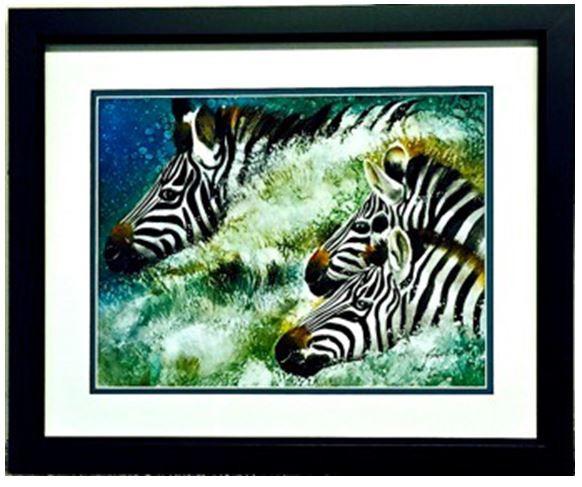 connie's zebras ...