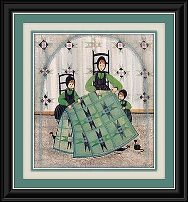 Quilting with My Girls Framed.jpg