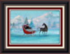 Red Sleigh Framed.jpg