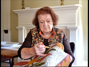 Primitive Rug Hooking Has a Remarkable History: Part 1 ~
