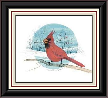 Scarlet Splender Framed.jpg