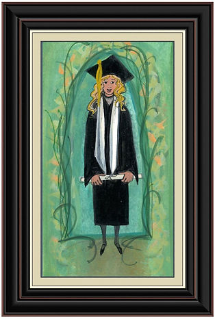 2017 Graduate Girl 3 Framed .jpg