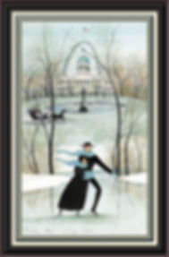 City Skaters Framed.jpg