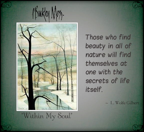 within my soul ...