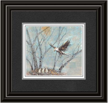Spring Eagles Framed 2.jpg