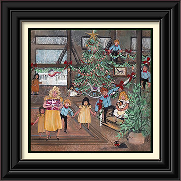Christmas at the Barn Framed.jpg