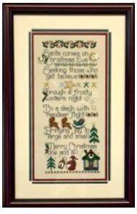 martha's santa comes ...
