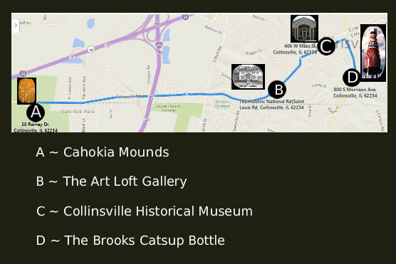experience the Collinsville adventure ...