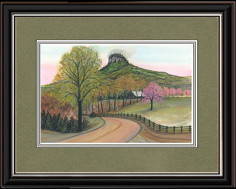 Pilot Mountain Framed.jpg
