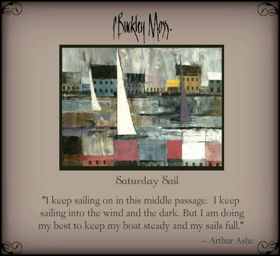 a new sail ...