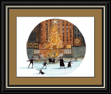 Christmas at the Center Framed.jpg