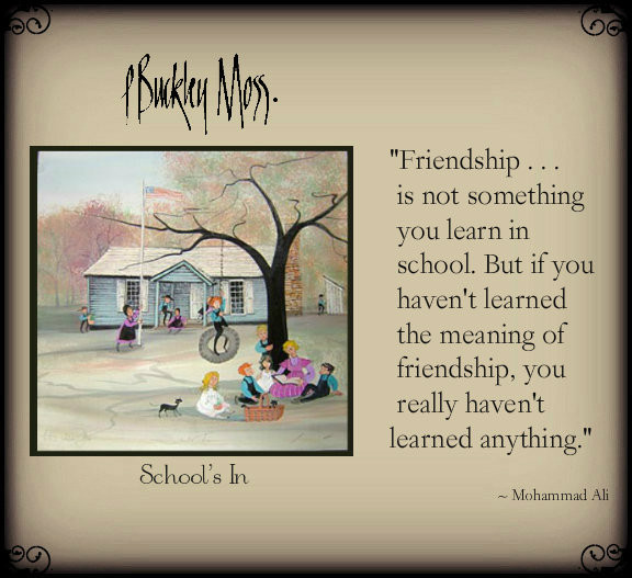 friendship ...