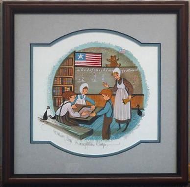 Kindergarten Days Framed by Art Loft tou