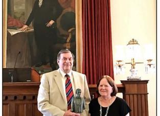 Congratulations… Bill Iseminger on ISHS Award ~
