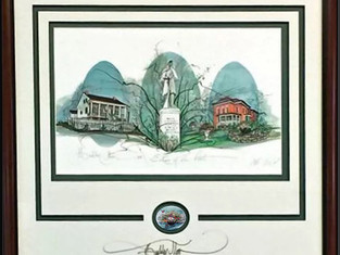 The D.D. Collins House featured in P Buckley Moss print ~
