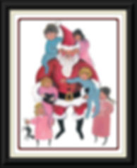 Santa's Joy Framed.jpg