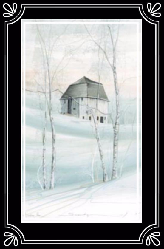 serenity of winter ...