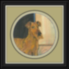 Irish Terrier Original Framed.jpg