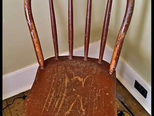 The chair from the Kinderhook School ~