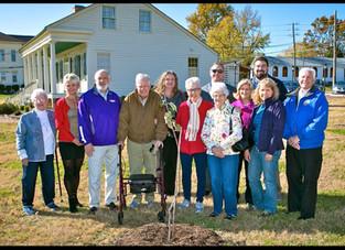 Johnny Appleseed Tree Dedication Ceremony~