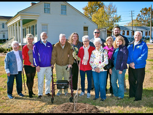 Johnny Appleseed Tree Dedication Ceremony~