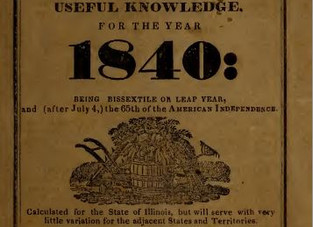1840 Wisdom, Humor, and Forecasts ~
