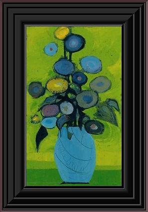 Blue Vase Canvas Framed.jpg