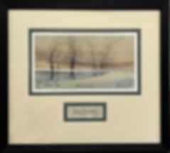 Morning Reflections Framed by Art Loft.j