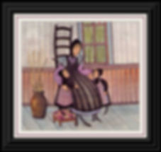 A Precious Moment with Mother Framed.jpg