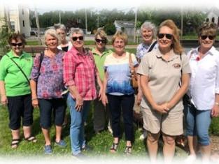 The Edwardsville Garden Club Visit ~