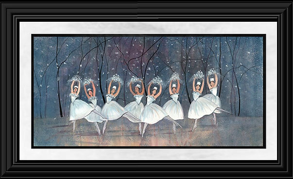 The Waltz of Snowflakes Framed.jpg