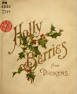 Holly Berries from Dickens cover page.JP