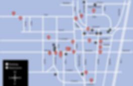Downtown Asheville Arts District Map