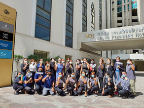 Kingston Hotels Group becomes one of the first in Bangkok to fully vaccinate all staff
