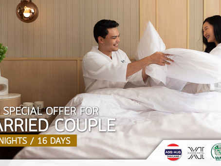 ASQ SPECIAL OFFER FOR MARRIED COUPLE