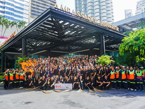 """Kingston Hotels Group joins hands in the """"Big cleaning day – Sukhumvit 11"""""""