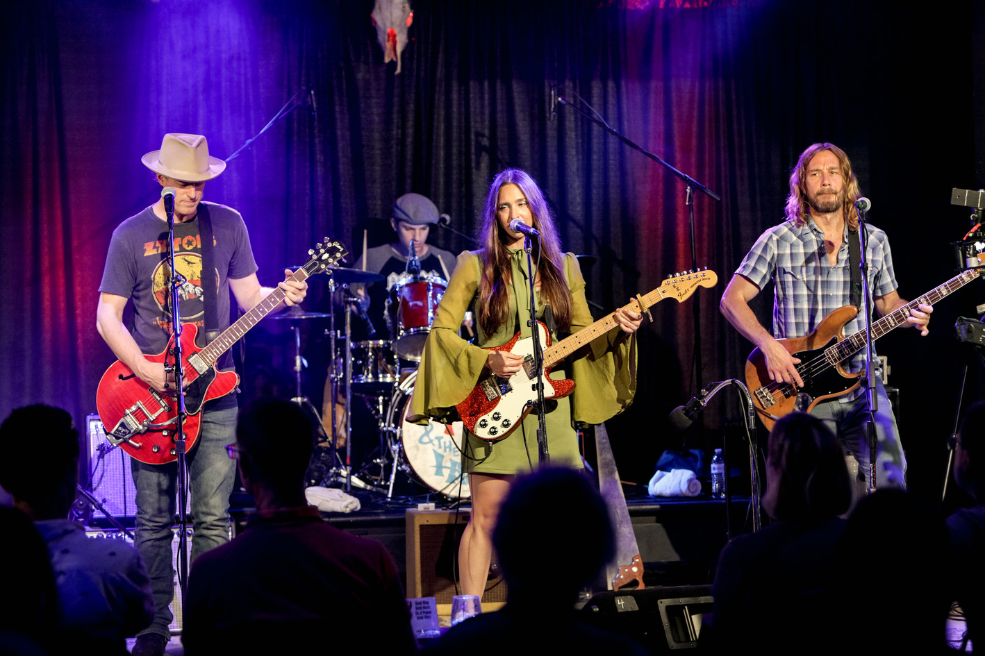 Angela Perley and The Howlin' Moons