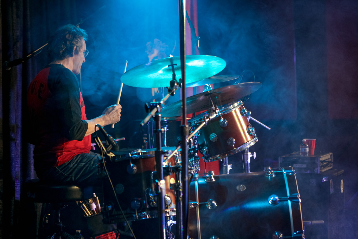 Revelator Hill drummer Gary Crockett