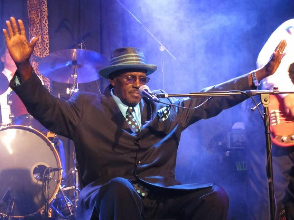 The late Smokey Holman of Tweed Funk