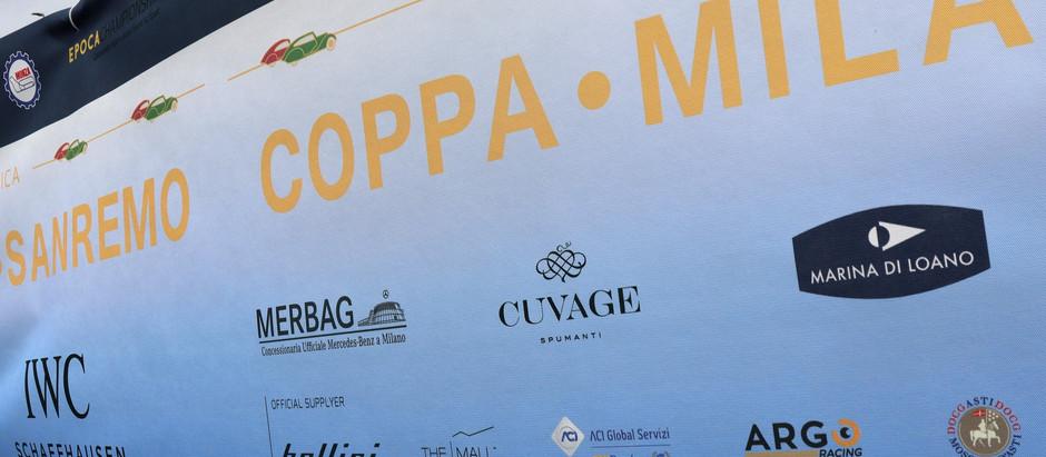 Si è conclusa la XII Rievocazione Storica della Coppa Milano Sanremo