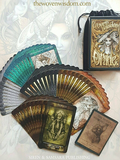 The Woven Wisdom Oracle Deck