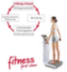 Der InBodyCheck bei Fitness First Class in Mainz  ist eine hochpräzise Körperanalyse für Dein Fitnesstraining.