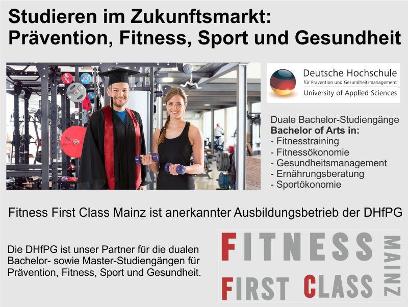 Studium bei Fitness First Class