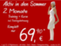 Sommerangebot 2 Monate Fitnesstraining und Kurse bei Fitness First Class in Mainz