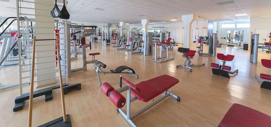 Trainingsfläche bei Fitness First Class in Mainz Weisenau