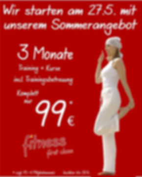 Das Sommerangebot von Fitness First Class. Dein Fitnessstudio in Mainz
