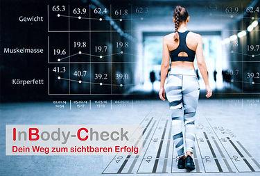 Inbody Checkup bei Fitness First Class in Mainz