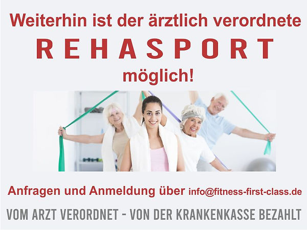 Rehaport im Mainz bei Fitness First Class in Mainz-Weisenau