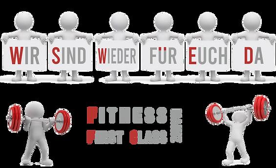Es geht wieder los bei Fitness First Cla
